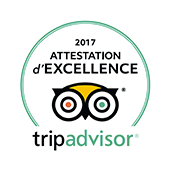 Tripadvisor - Attestation d'excellence